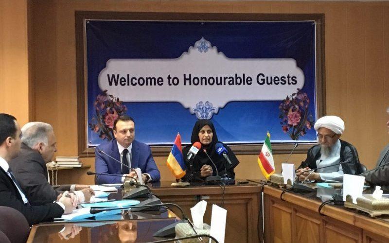 امضای تفاهمنامه سازمان ملی استاندارد و وزارت توسعه اقتصادی ارمنستان