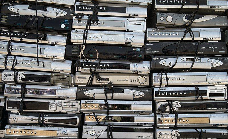 قاچاق ۱۰ هزار دستگاه رسیور ماهواره توسط یک شرکت حملونقل بینالمللی