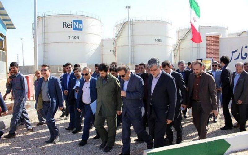 پروژه مخازن نگهداری فرآوردههای نفتی بندر امام (ره) در خوزستان به بهرهبرداری رسید