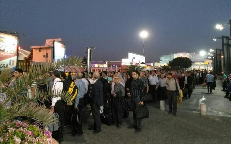 تدابیر امنیتی فرودگاه مهرآباد تشدید شد