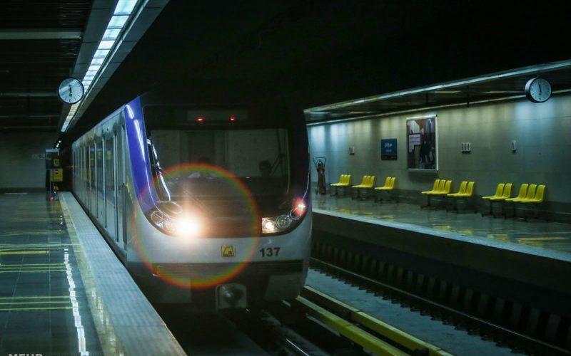 استقبال بخشداری آفتاب از افتتاح خط 8 مترو