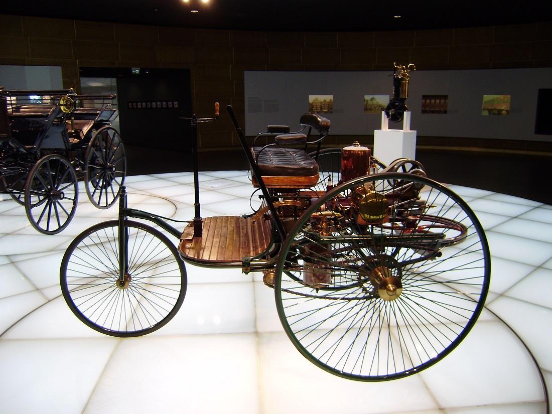 اختراع ماشین کارل بنز خلاقیت