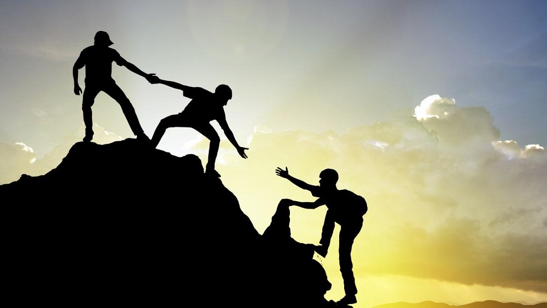رهبری حمایت کمک دوستی همدلی اقتدار