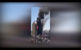 آتشسوزی در یکی از هتلهای مشهد