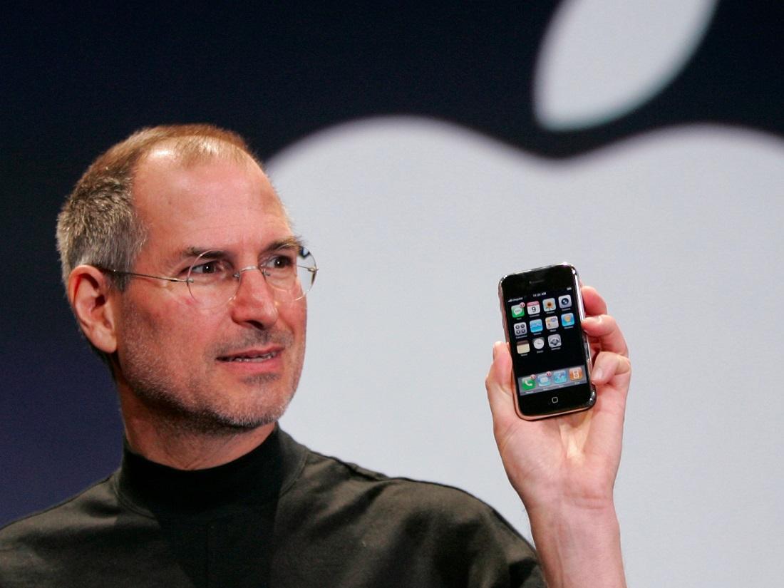 استیو جابز اقیانوس آبی آیفون معرفی اپل