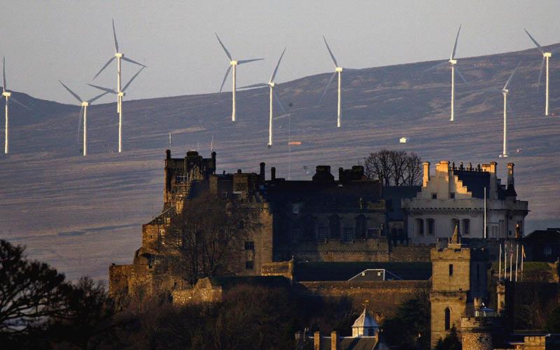 رکوردشکنی اسکاتلند در انرژیهای تجدیدپذیر