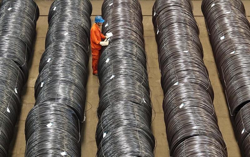 تولید فولاد چین در ژوئن به بالاترین میزان رسید