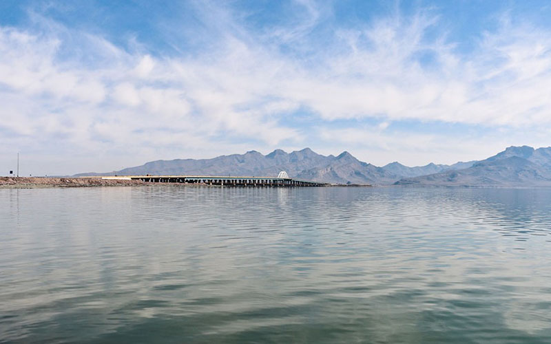 حجم آب دریاچه ارومیه ۲۱۰ میلیون متر مکعب کاهش یافت