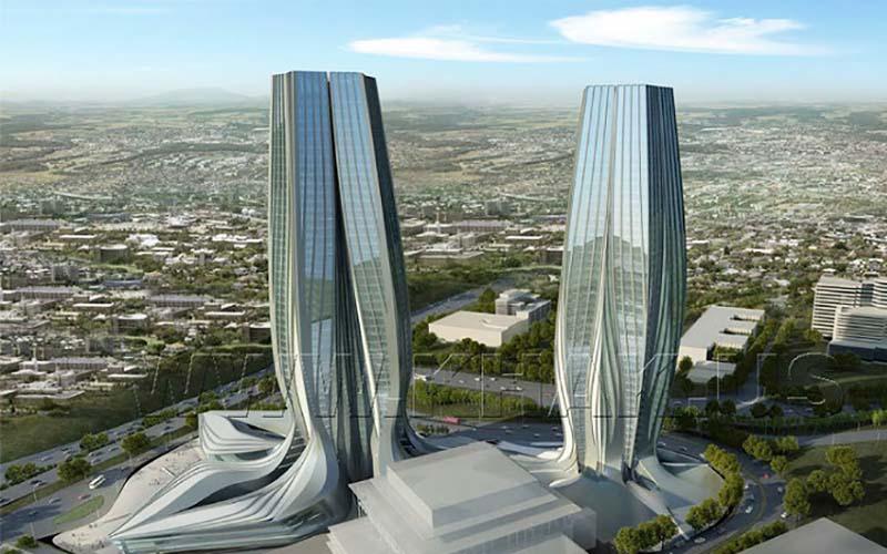 ساخت برج ۹۵۰ میلیارد تومانی در تهران