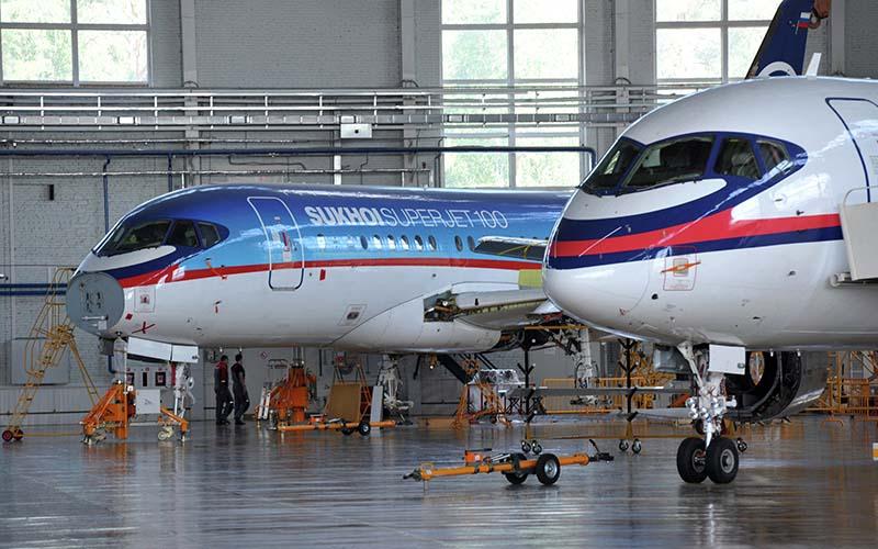 مانع آمریکایی برای فروش هواپیمای مسافربری روسی به ایران