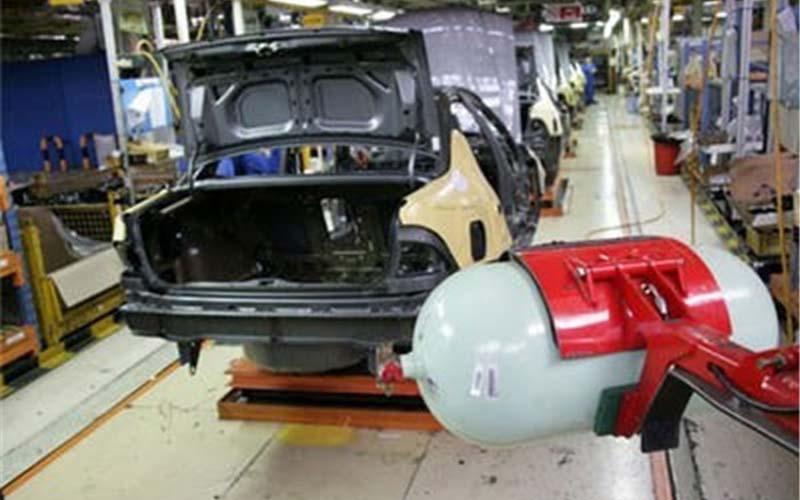 جدیدترین وضعیت تولید خودروهای دوگانهسوز