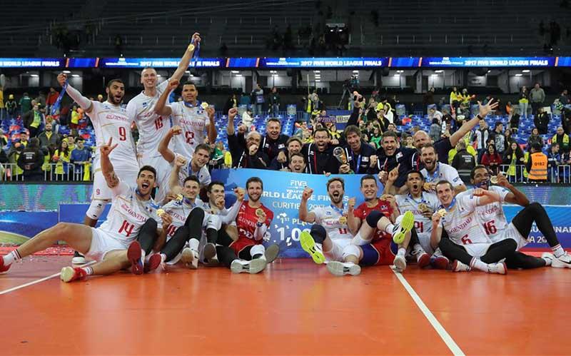 فرانسه، قهرمان لیگ جهانی والیبال 2017 شد