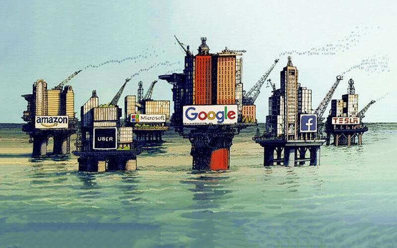 مقایسه انحصارطلبی در حوزه نفت و فناوری