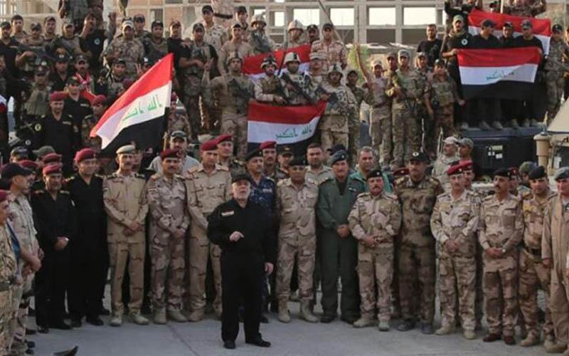اعلام پیروزی کامل در موصل توسط حیدر العبادی