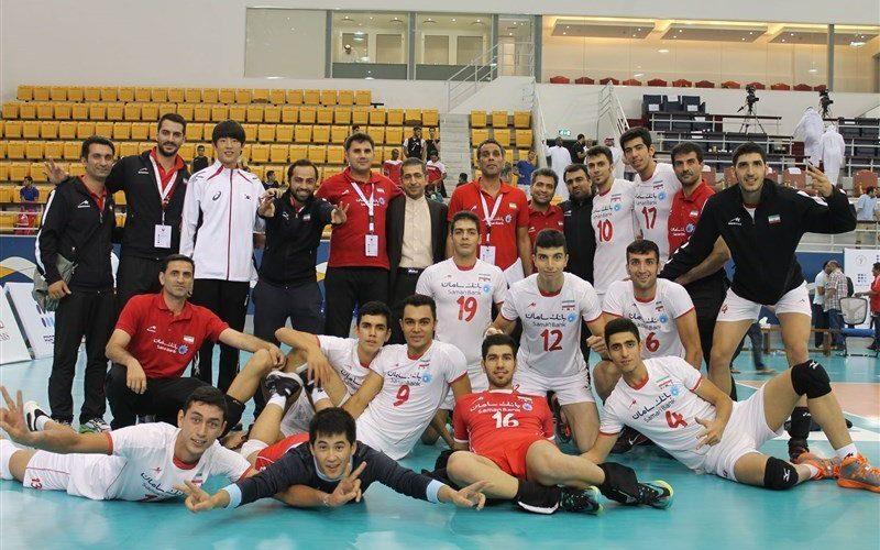 جوانان والیبال ایران بر سکوی پنجم جهان