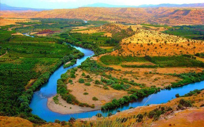 تصمیم آبی ایران برای رودخانه زاب کوچک کردستان عراق
