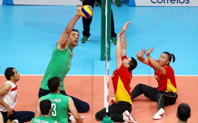 قهرمانی تیم ملی والیبال نشسته مردان ایران در آسیا