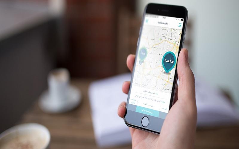 بررسی عملکرد تاکسیهای آنلاین در برف