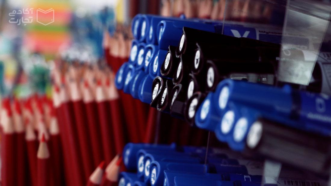 مرز امکانات تولید اقتصاد بازار مداد خودکار