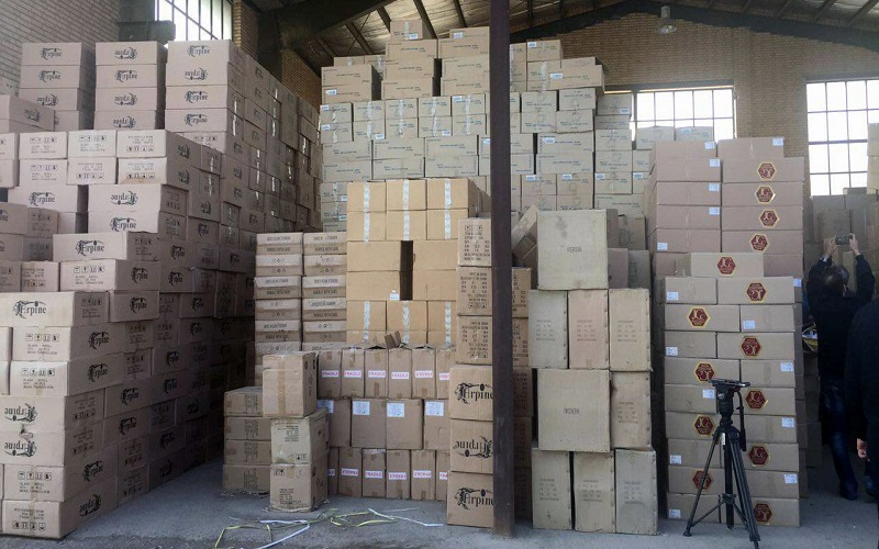 کشف کالای قاچاق ۶۰ میلیاردی در غرب استان تهران