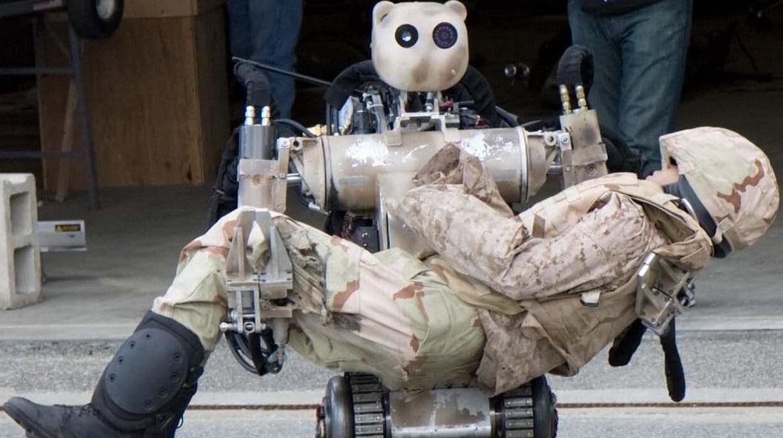 ربات امداد حادثه هوش مصنوعی