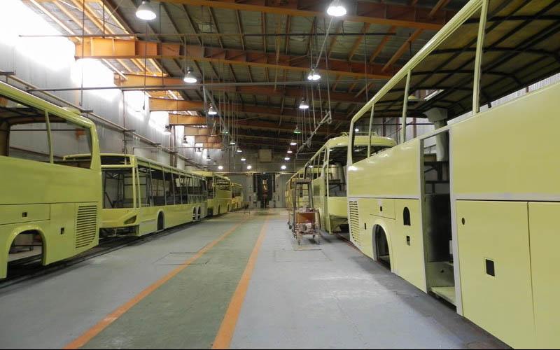تولید اتوبوس