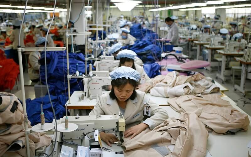 برچسب «ساخت چین» در صنعت نساجی کره شمالی