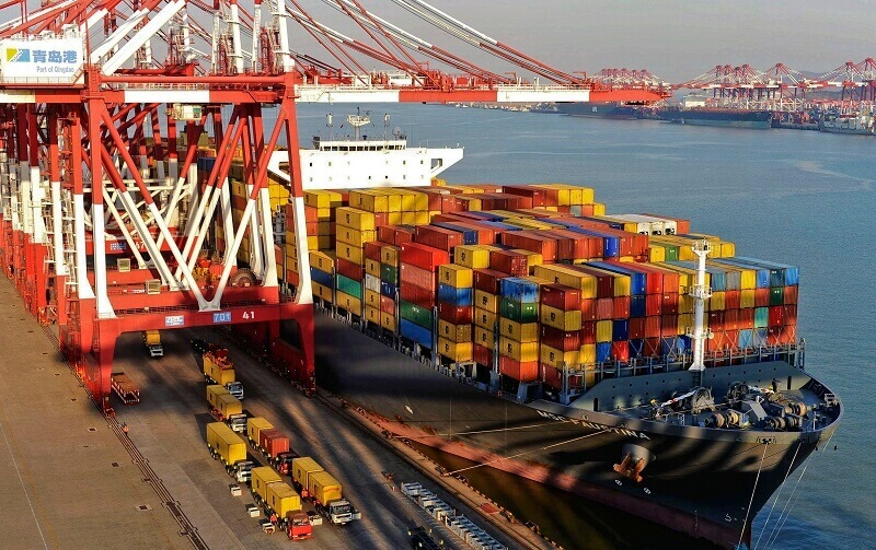 افزایش صادرات چین کمتر از میزان انتظار