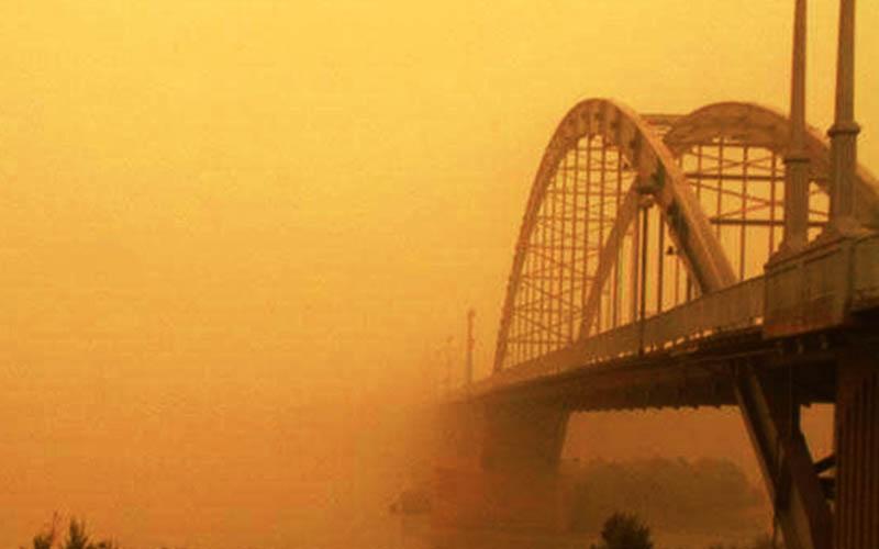 وضعیت آلودگی هوا در خوزستان مناسب نیست