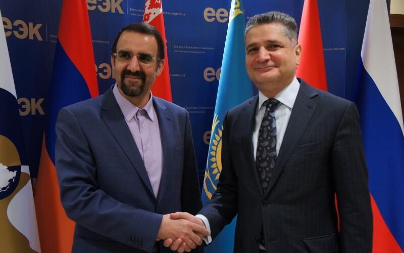 امضای قرارداد تجارت آزاد میان EAEU و ایران