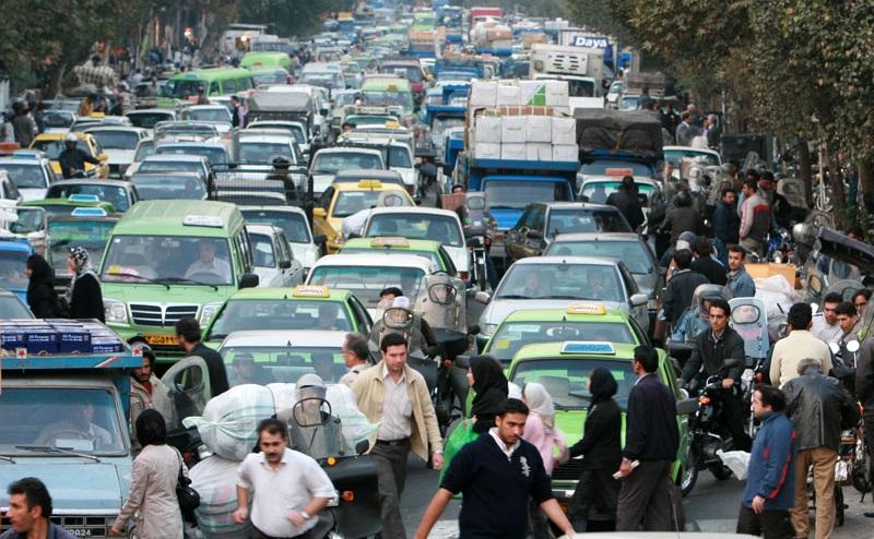 ترافیک تهران در امروز چقدر جدی است؟
