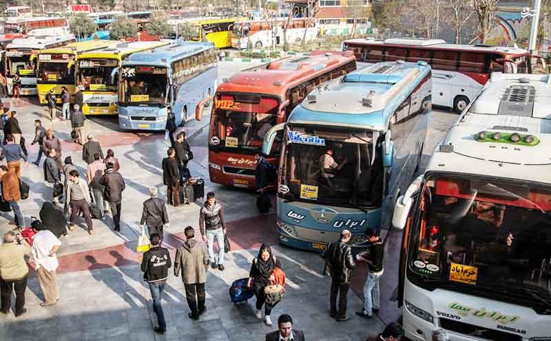 کاهش ۵ درصدی استفاده از ناوگان حملونقل عمومی