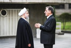 حسن روحانی اسحاق جهانگیری دولت دوازدهم