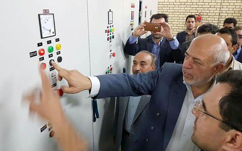 افتتاح ۲ پروژه برق منطقهای با حضور وزیر نیرو در گرمسار