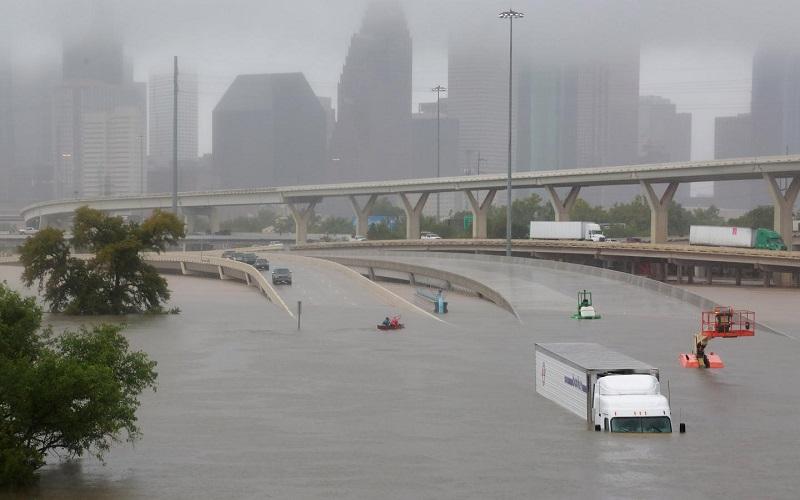 30 میلیارد دلار، خسارت احتمالی طوفان هاروی