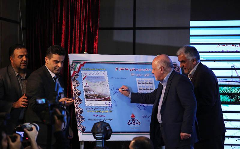 افتتاح رسمی خط لوله انتقال گاز دامغان-کیاسر-ساری-نکا