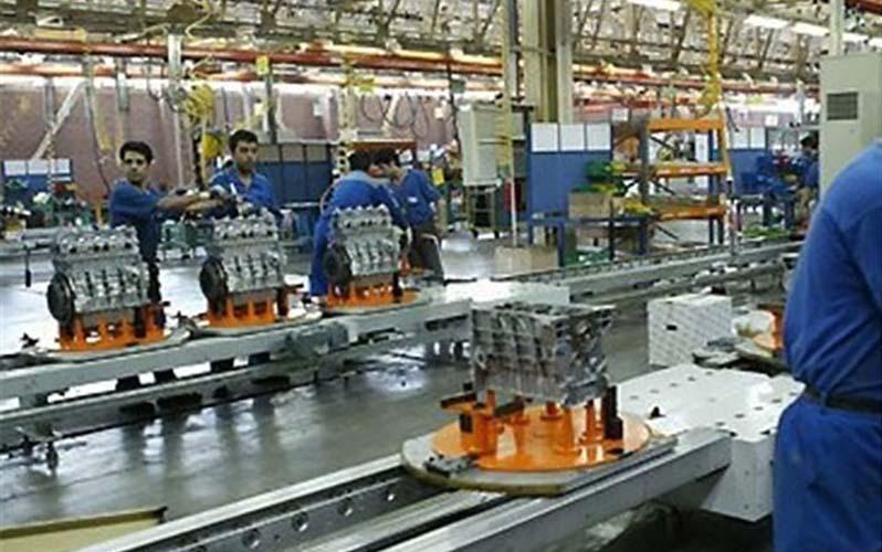 تورم تولیدکننده صنعت در فصل بهار ۷.۴ درصد شد