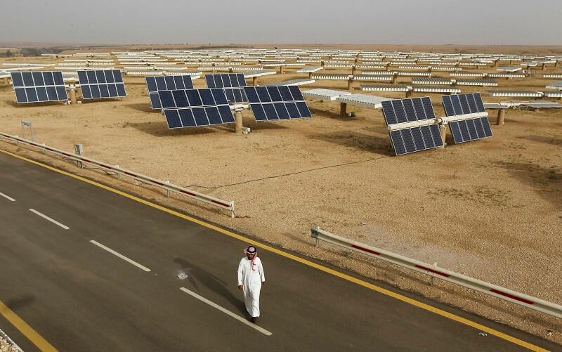 طرح عربستان برای ترویج استفاده از پنل خورشیدی