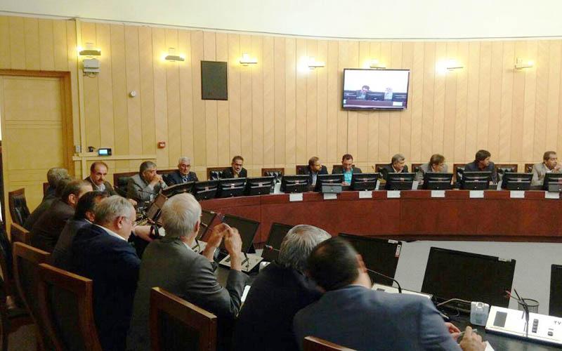 جلسه فراکسیون امید با حضور وزرای پیشنهادی صنعت و ارشاد
