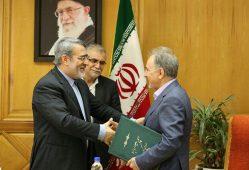 نجفی حکم شهرداری تهران را از رحمانی فضلی گرفت