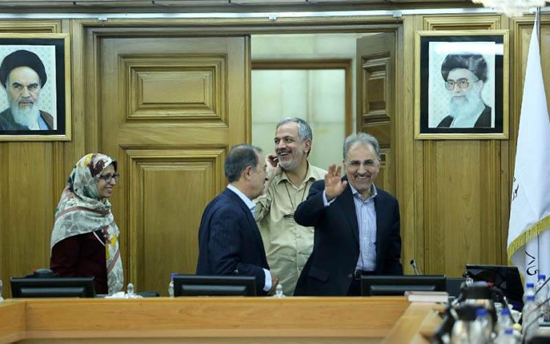 محمدعلی نجفی شهردار تهران