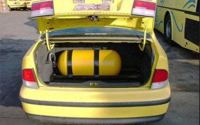 ۲۱۵ مخزن CNG غیراستاندارد خودرو در تهران معدوم شد
