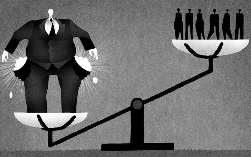 بررسی تاثیر نابرابری درآمدی بر توسعه اقتصادی