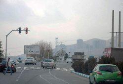 آلودگی هوای پردیس