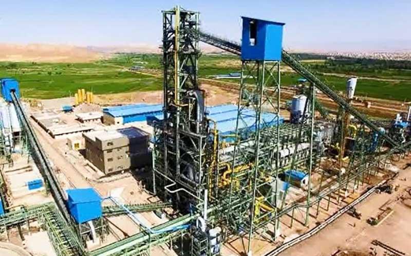 افتتاح پروژه کارخانه تولید آهن اسفنجی فولاد میانه
