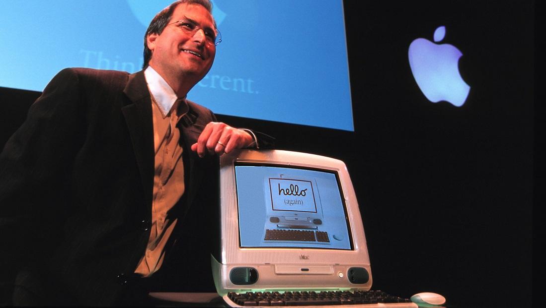 استیو جابز اپل کامپیوتر 1998