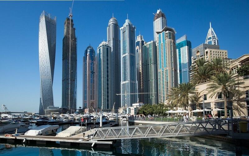 افت قیمت دفاتر تجاری در دوبی