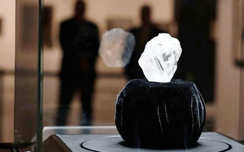 گرانترین الماس روسیه به وزن ۳۰ قیراط به حراج گذاشته میشود