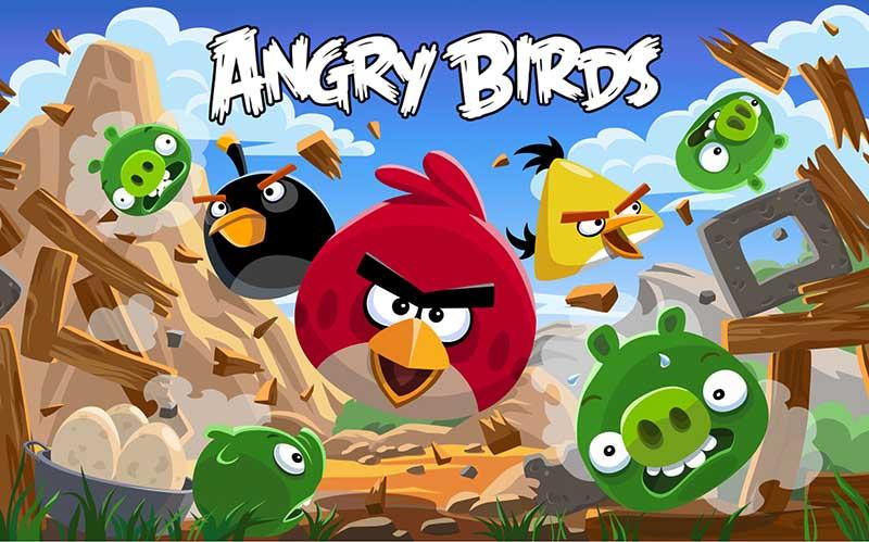 انگری بردز یا پرندگان عصبانی که صاحبانشان را میلیونر کردند