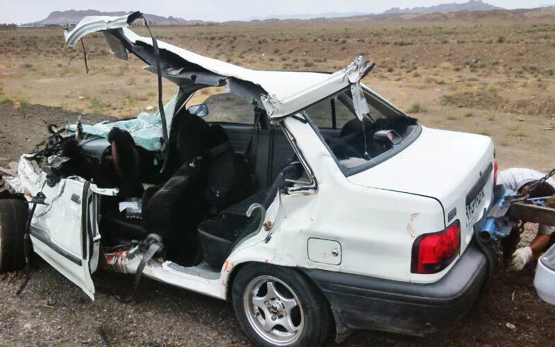 روزانه بیش از ۴۴نفر در سال ۹۶ جان خود را در تصادفات از دست داده اند